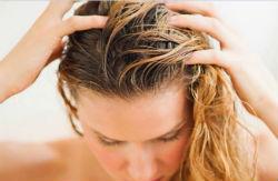 Очищение кожи головы солью