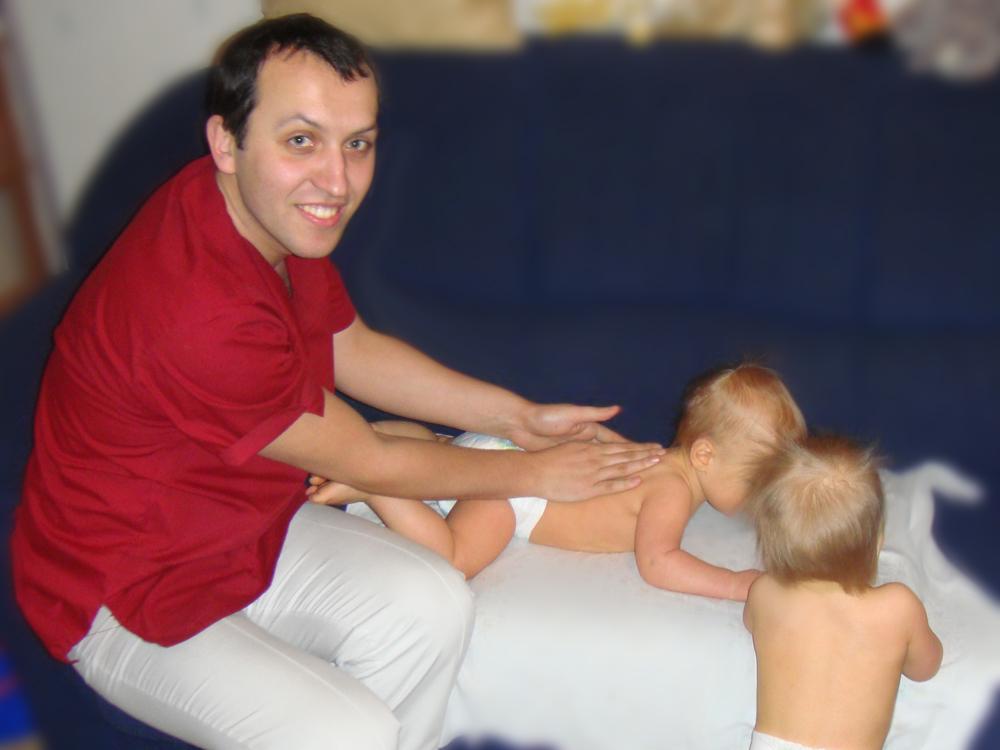Детский массаж в Москве